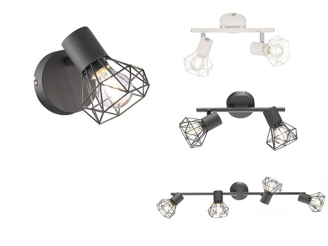 Classic Design Metal Iron 4 Heads E14 Led Ceiling Light Led Decorative Spot Light Spotlight AS-2040