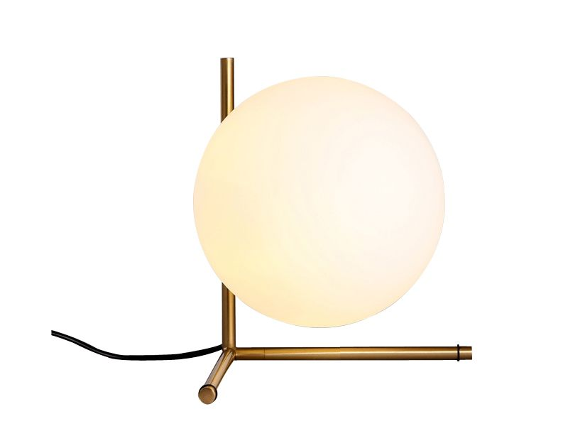 Opal glass simply table lamp E27 AT-7120
