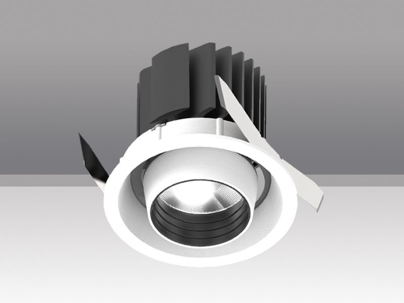 36W Recessed downlight for retail projects CRI95 with honeycomb louver AD-2201